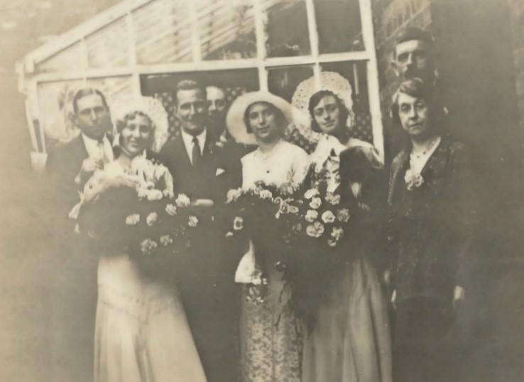 donald and doris wedding 1932