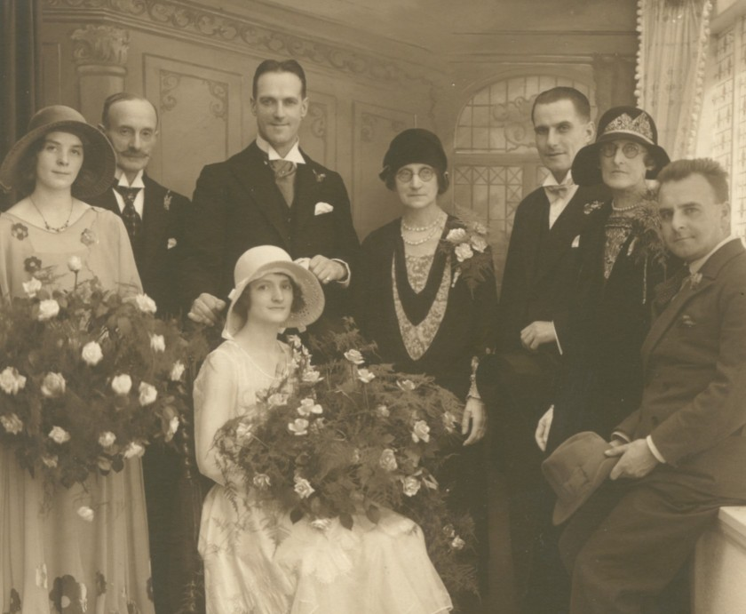 Laurence wedding 1927