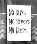 no irish sign